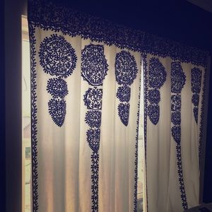 Anthropologie Marrakesh curtains